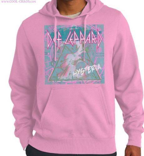 Def Leppard Hysteria Licensed Adult Pullover Hoodie