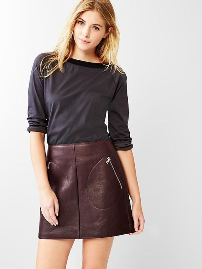 Pin by Skirt palace on Leather skirts | Pinterest | Leather skirts ...