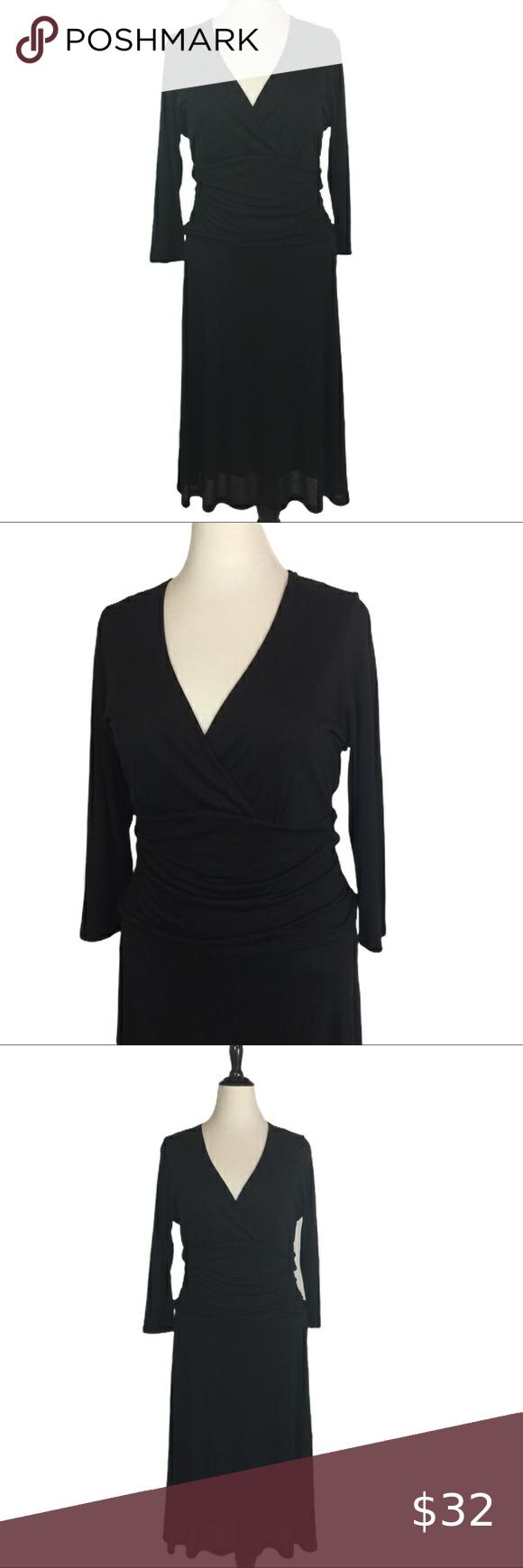 Boden Little Black Dress 18 R Lyocell Knit Ruched Little Black Dress Pullover Designs Black Dress [ 1740 x 580 Pixel ]
