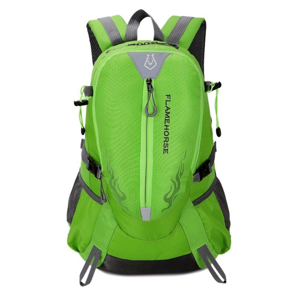 d87ed32eac 40L Women   Men Nylon Waterproof Outdoor Travel Bag Big Capacity Climbing  Hiking Camping Rucksacks Sports