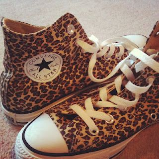 Leopard Print Converse ♪ o.m.g. stop it hahah if only i could pull these off