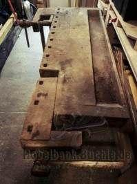 Eine alte verkommene Hobelbank wieder in Stand setzen ...