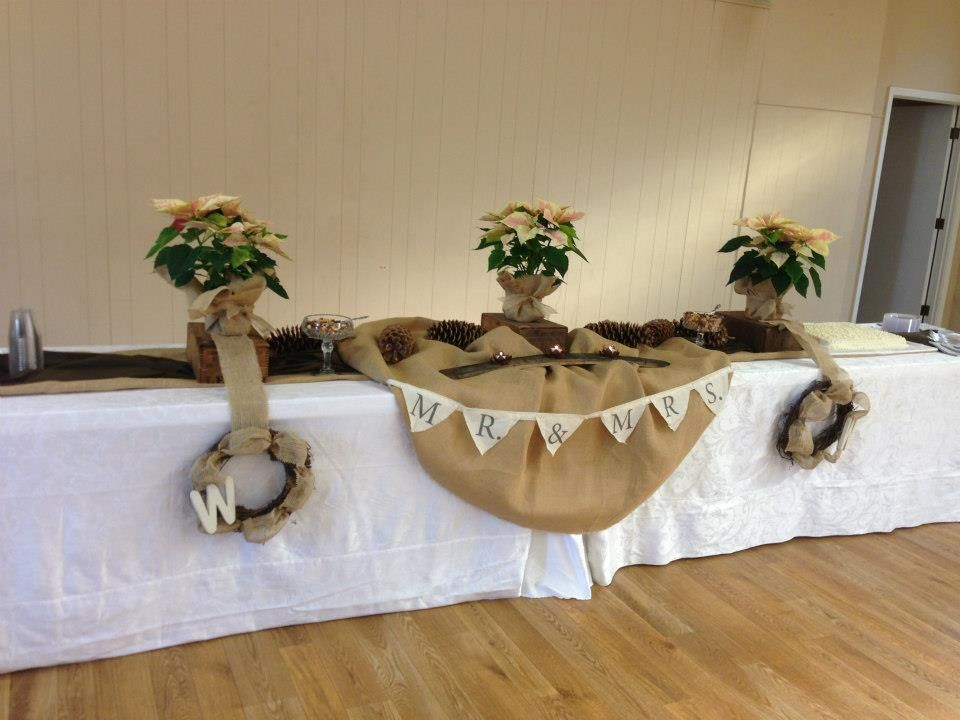 Burlap Wedding Shower Decorations Bridal Shower With All The