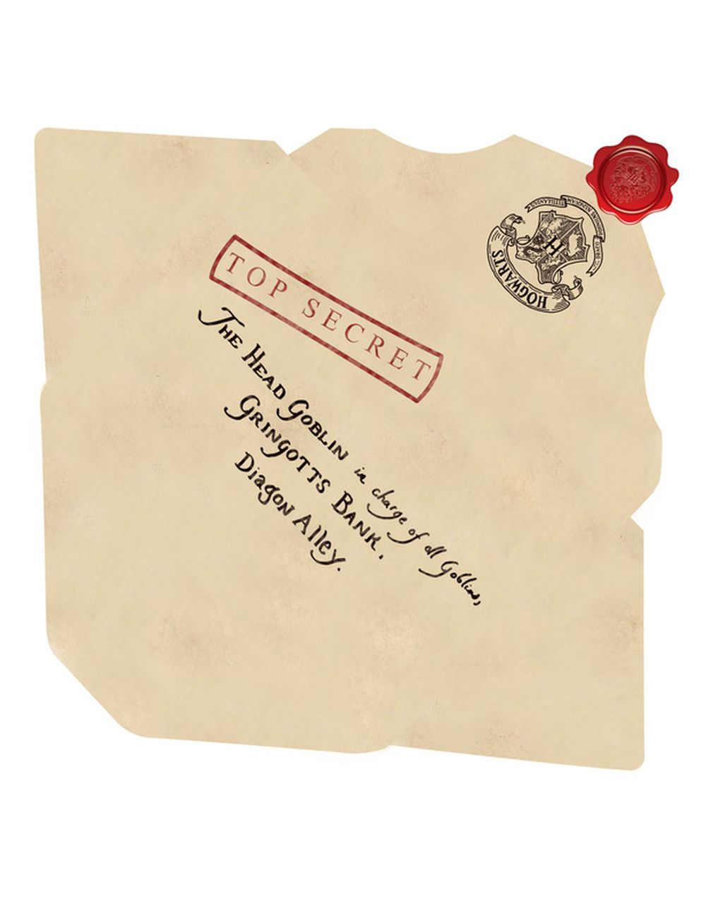 Making An Envelope For Your Hogwarts Acceptance Letter