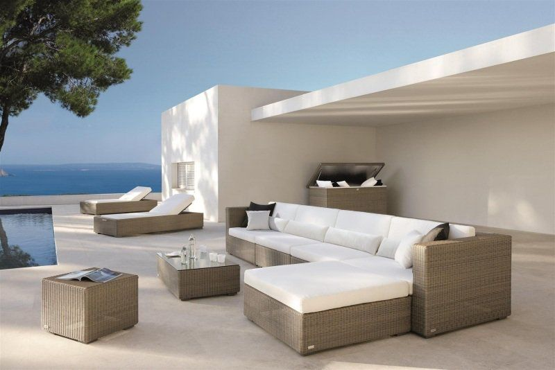 Allibert Monaco lounge set with storage table assembly video
