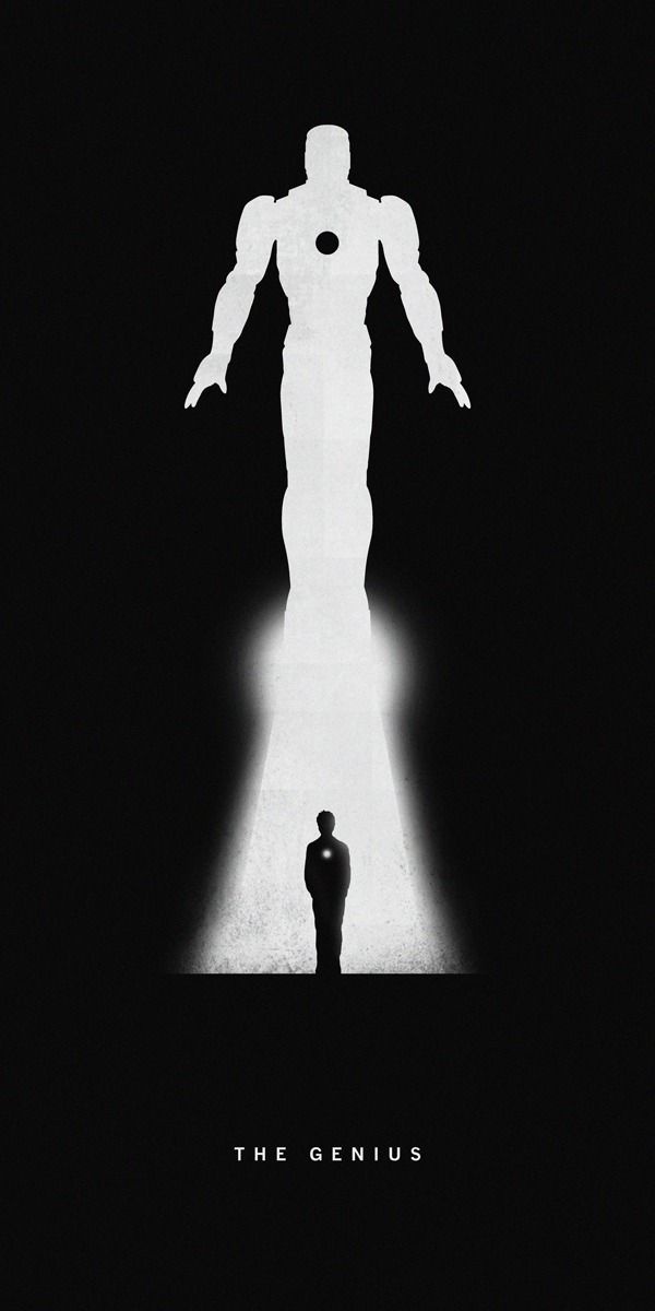 """California-based graphic designer Khoa Ho created a series of posters entitled """"Superheroes — Past/Present"""""""