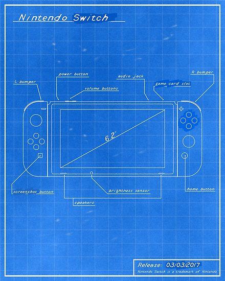 Nintendo switch blueprint von rocksoft web graphic design nintendo switch blueprint von rocksoft malvernweather Choice Image