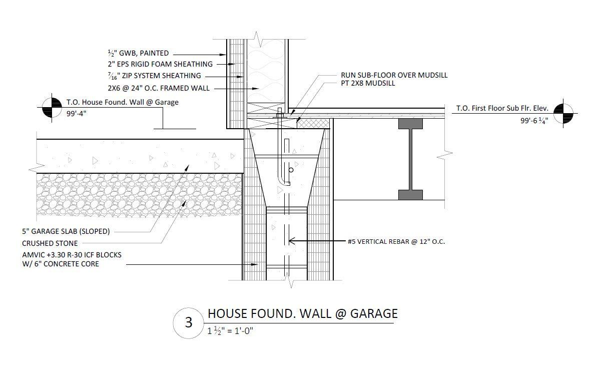 Fine Homebuilding Prohome ICF foundation detail 1 | Construction ...