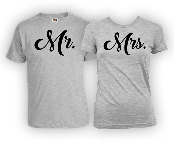 8ff0df40ab Matching Shirts For Couples T Shirt His And Her Shirts Just Married T  Shirts Couple Outfits
