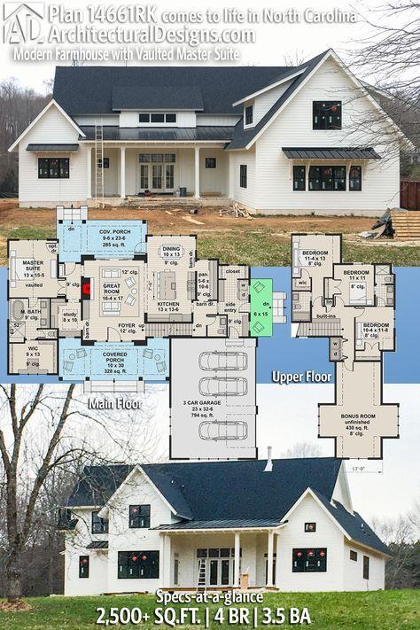 26 Super ideas for farmhouse plans 2500 sq ft