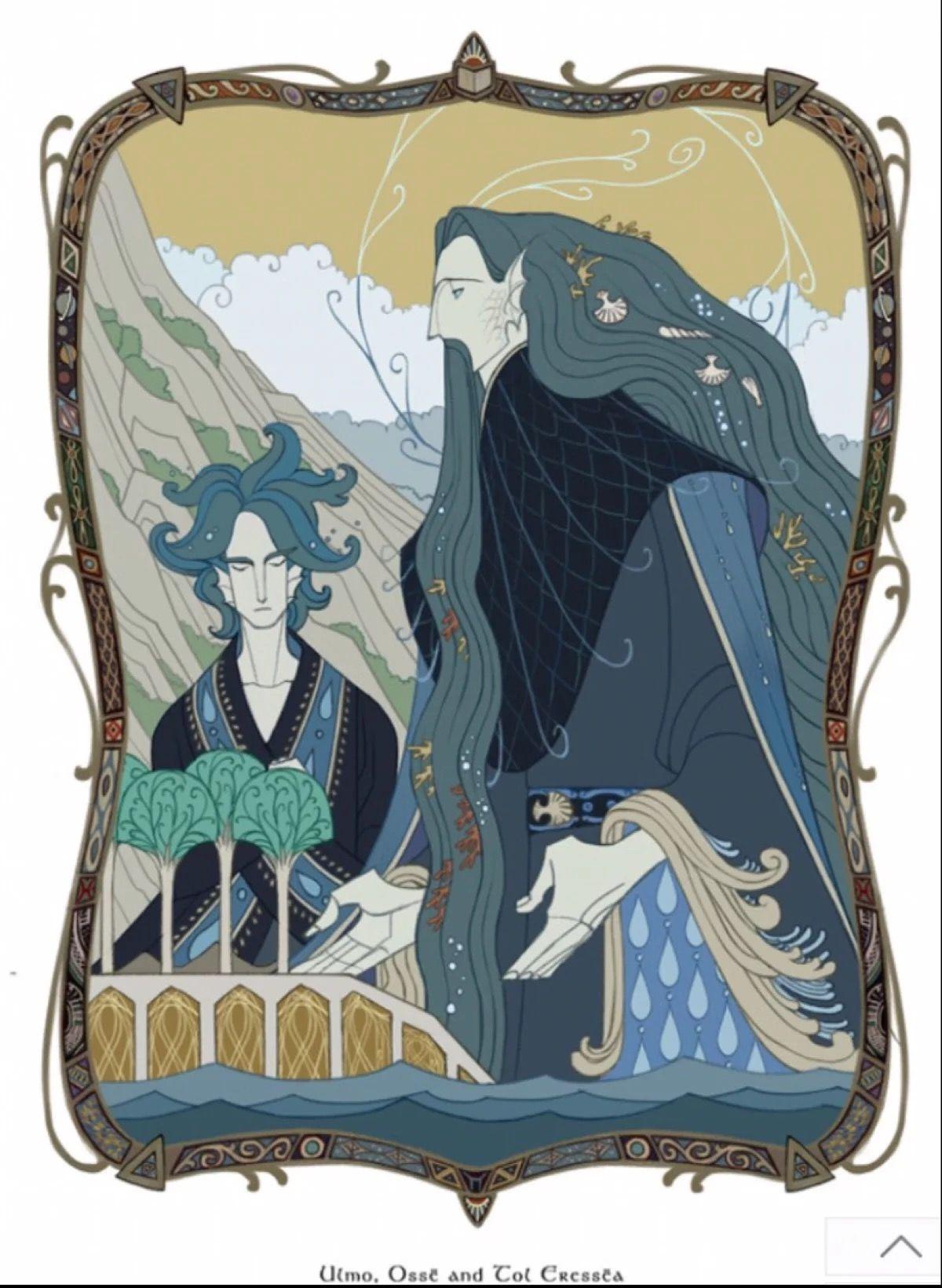 Ulmo and Ossë