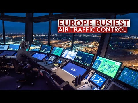 ️👀Click2Watch Inside Europe's Busiest Air Traffic Control