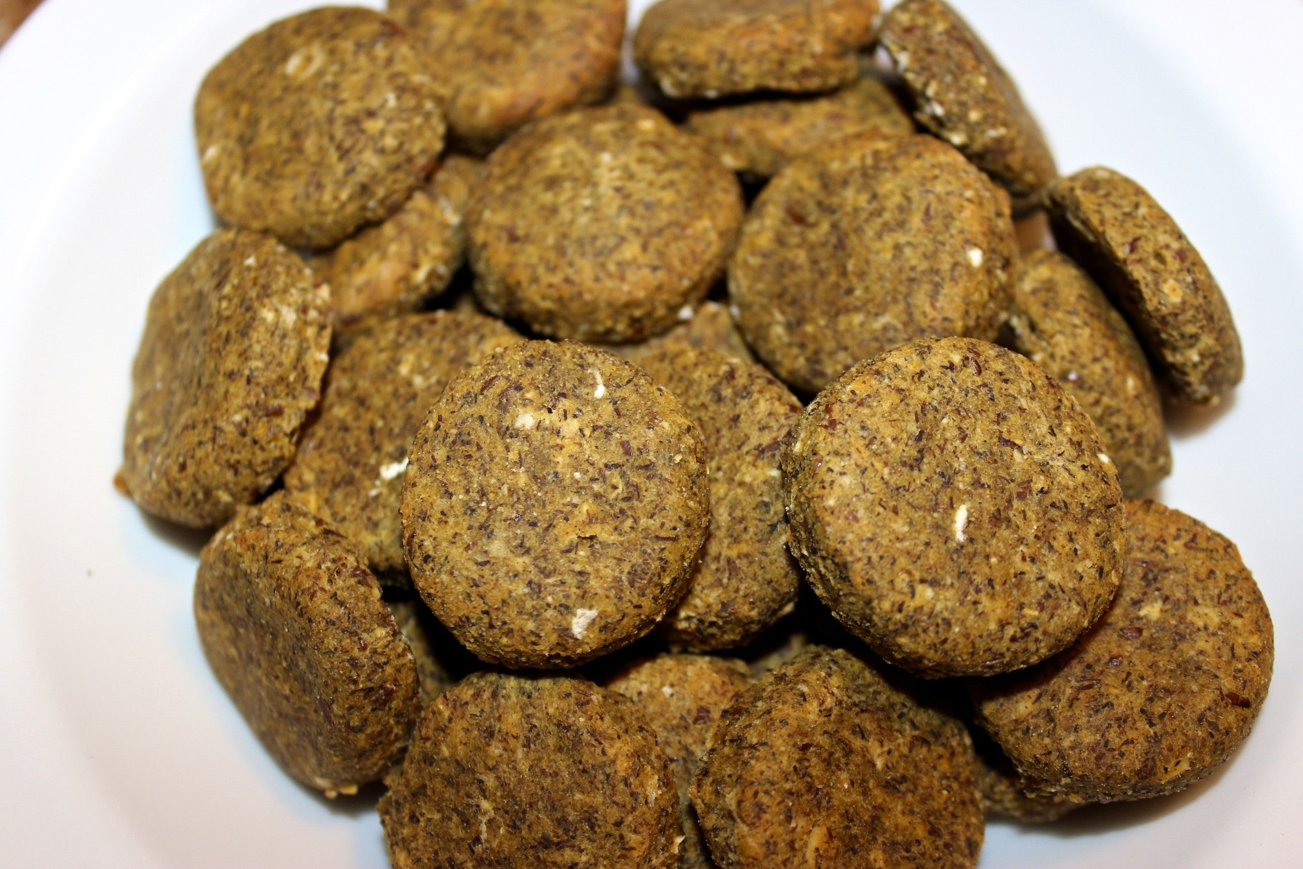 Sweet Potato & Flax Meal. Organic Handmade DairyFree