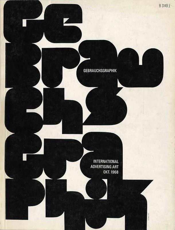 Gebrauchsgraphik, October 1968