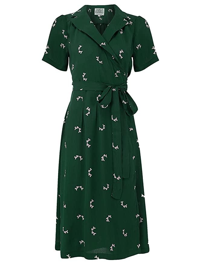 Vintage Inspired Dresses Clothing Uk In 2020 1940s Fashion 1940s Fashion Dresses Modest Dresses