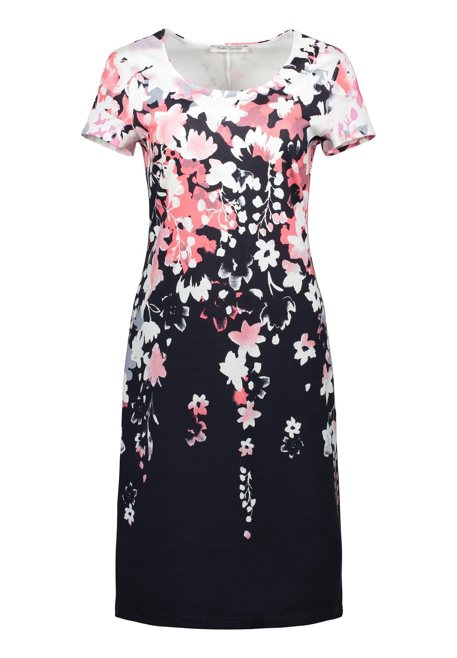 Betty Barclay Kleid mit wunderschönem Blumenprint Jetzt bestellen unter   https   mode. 6b418578df