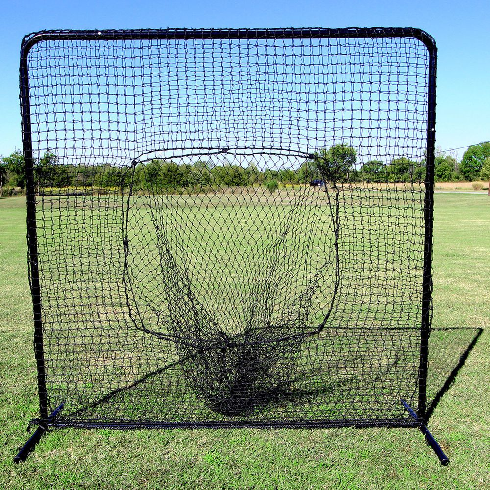 Baseball Hitting Net And Real Heavy Duty Frame Large Sock