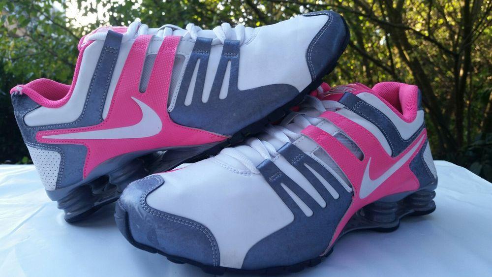 uk availability 48363 45cdb Nike Shox Current Women s White Metallic Cool Grey Pink 639657-108 Size 11  Shoes  Nike  Running