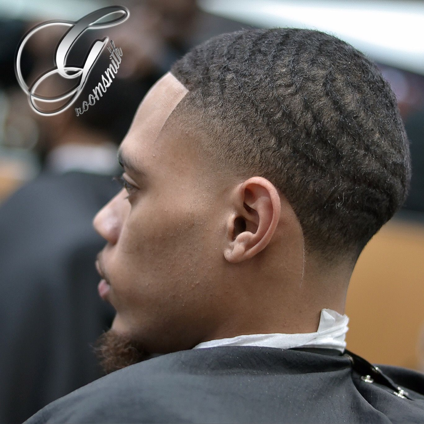 High Taper And Waves Created By The Groomsmith Tariq Nevar