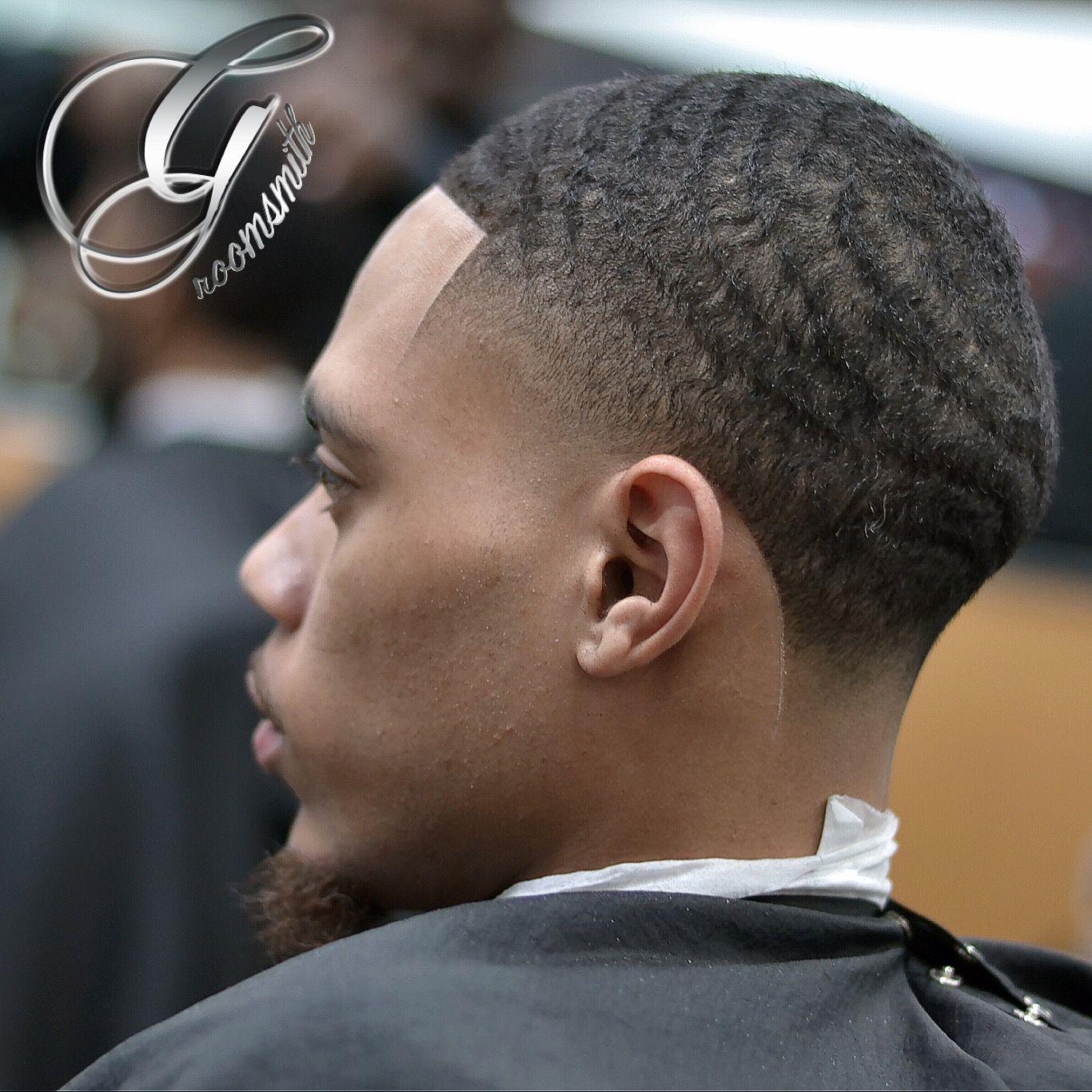 Taper Haircut Black Men Waves 95