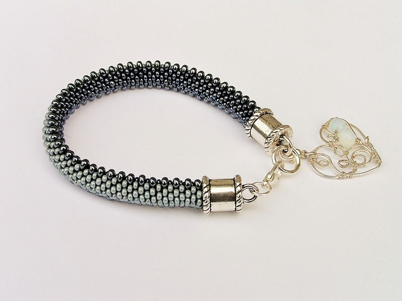 """by SHINE.  """"MAGIC DUO""""  Magic bead  BRACELET  from Jewellery with a Touch of Magic bySHINE by DaWanda.com"""