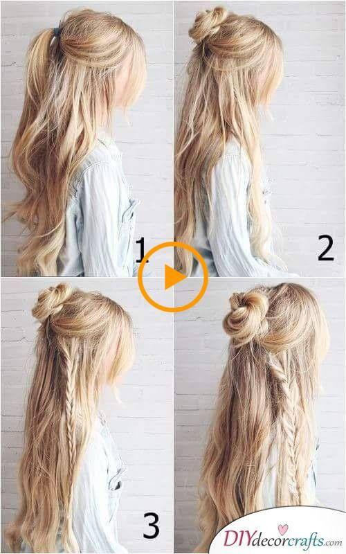 Photo of Bohemian- tai hippi-tyyli – helppo punos pitkille hiuksille
