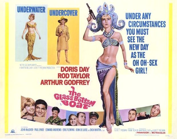 The Glass Bottom Boat, (1966)Doris Day, Rod Taylor