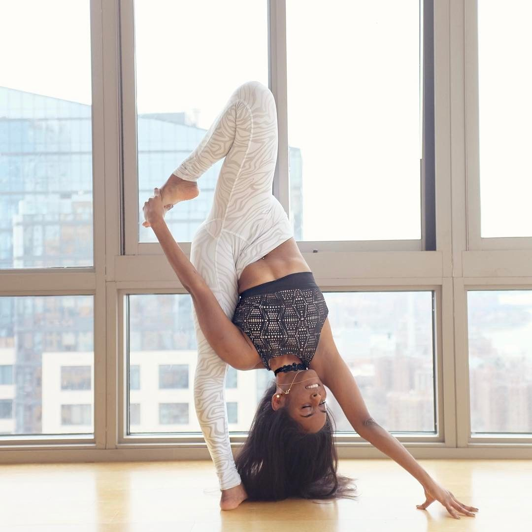 Even If You Can T Bend Yourself Into A Pretzel Or Defy Gravity With Masterful Inversions Admiri Impressive Yoga Poses Beautiful Yoga Poses Yoga Poses Advanced