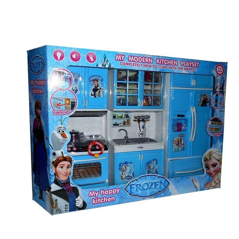 Modern Kitchen Set Frozen Besar Mainan Masak Masakan Ã…¤ Kitchen Set Motif Frozen Dengan Design Dan Fungsi Mirip Aslinya Ã…¤ Semua Pintu Play Doh Playset Modern