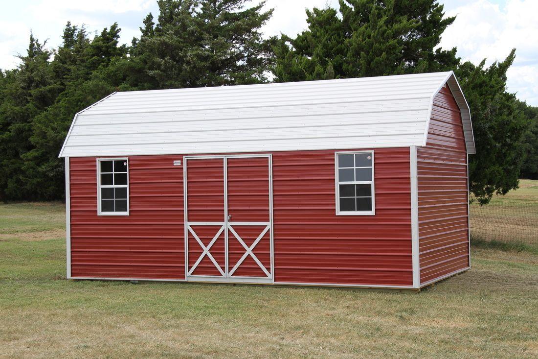 Picture Metal buildings, Mini barn, Backyard