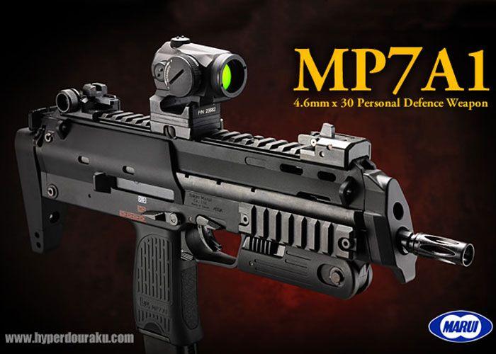 TM MP7A1 GBB Review | Airsoft guns | Airsoft, Guns, Airsoft guns