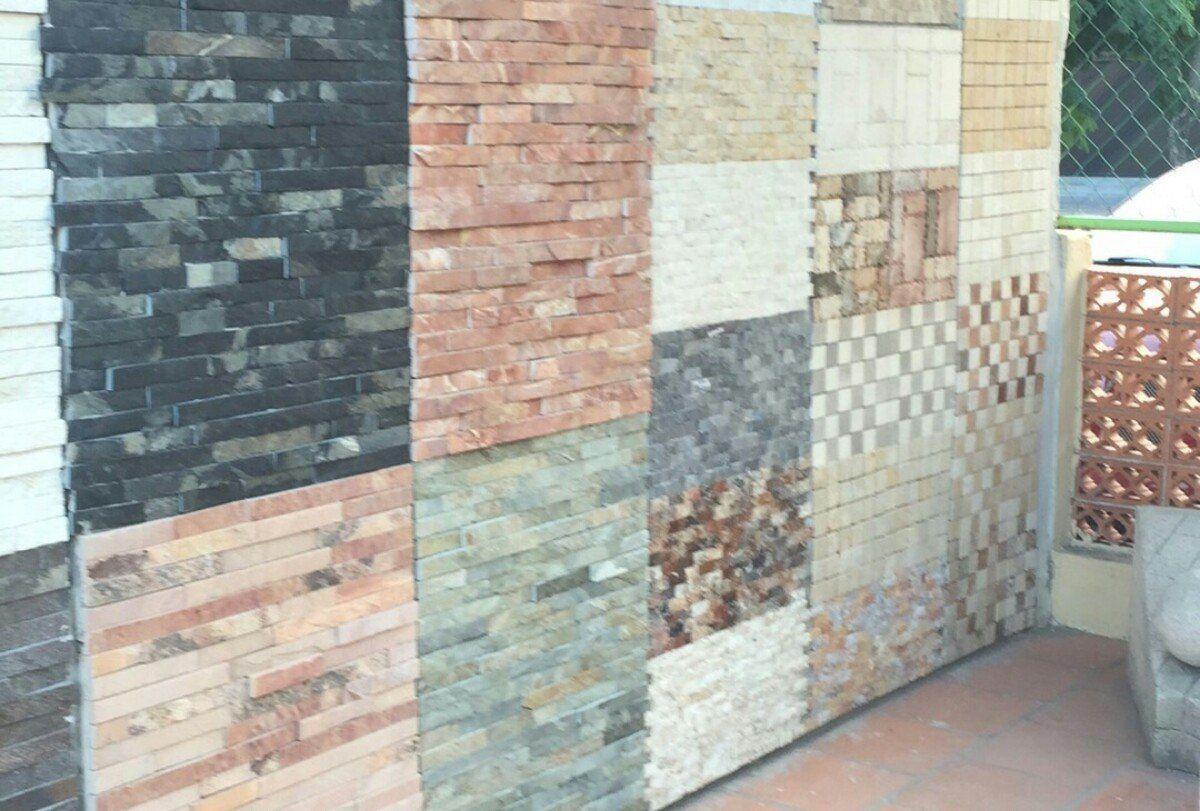 Piedra laja sintilla para fachada 5cm y3 casa for Exterior de casas