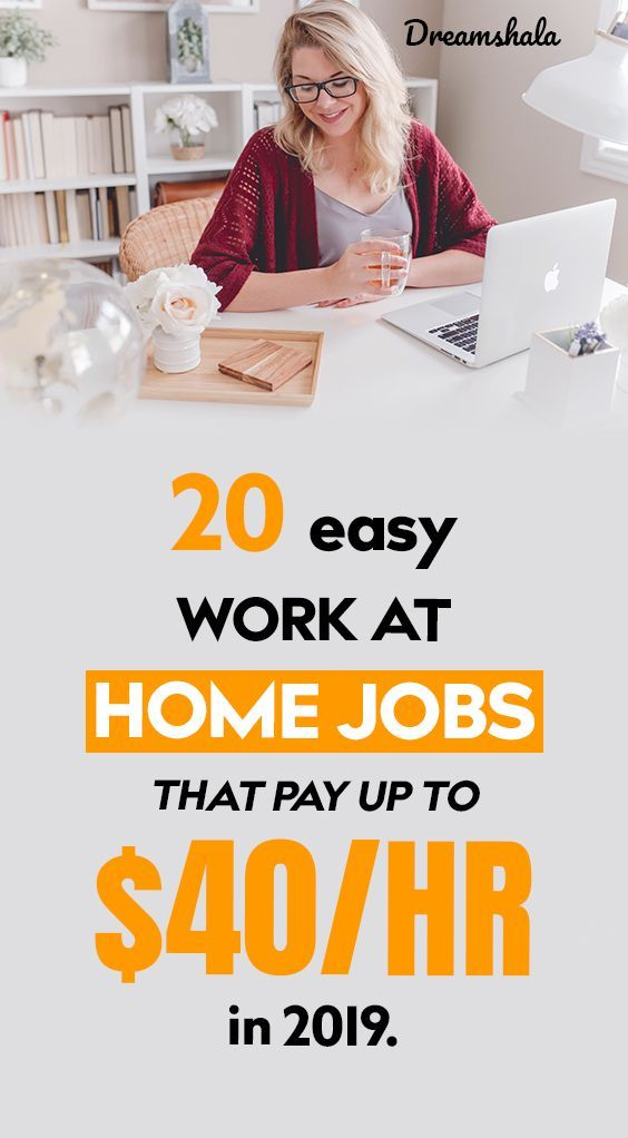 20 flexible part-time jobs that pay up to $50,000 per year