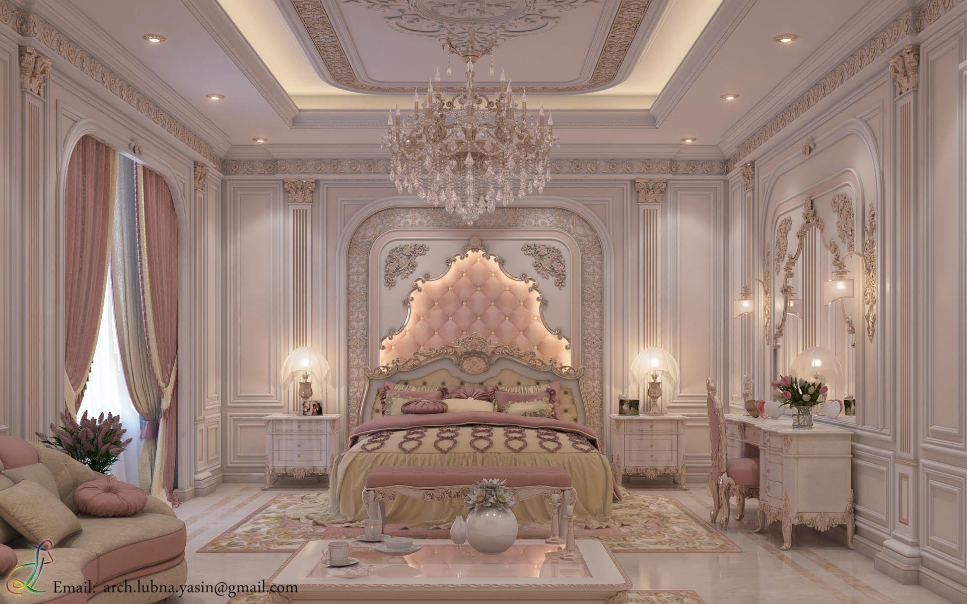 Best Luxury Bedroom In Uae Dubai By Lubna Yasin Architecture 400 x 300