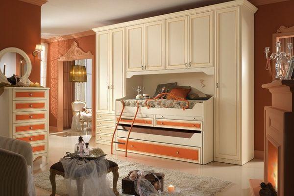 20 tolle Zimmermöbelideen für Mädchen im klassischen Stil