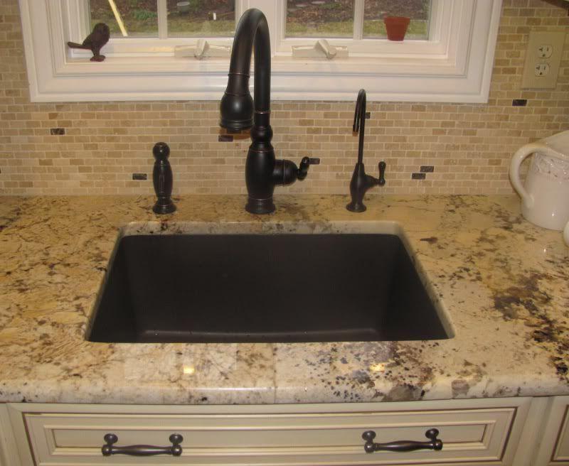 filtered water dispenser sink