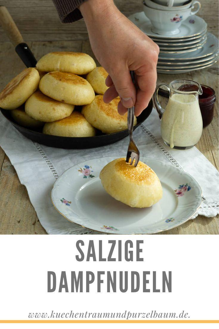 Salzige Dampfnudeln - Superblogger - Küchentraum & Purzelbaum
