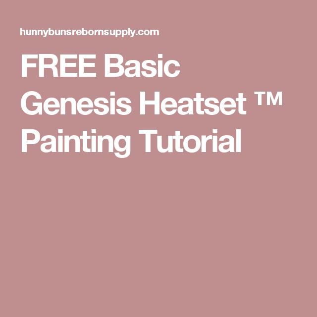 Tutorial: basic genesis heatset painting tutorial by hunnybuns.