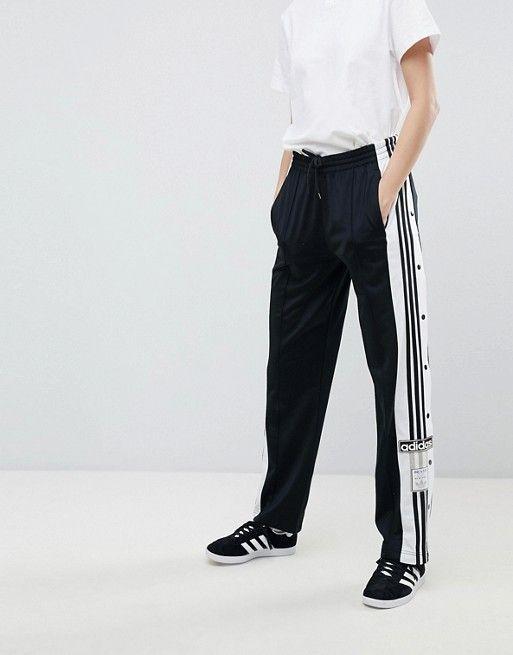 adidas adicolor popper pants