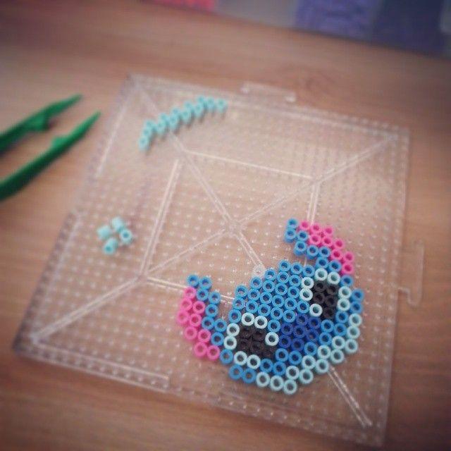 Stitch Head Perler Bead Pattern Bead Sprites Characters Fuse