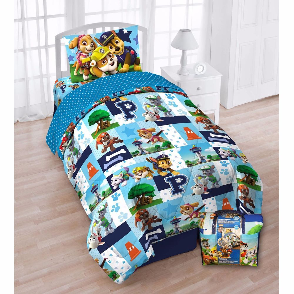The Four Piece Bed Set Includes One Twin Comforter One Flat Sheet