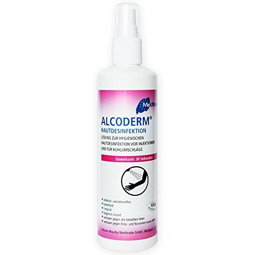 Alcoderm Hande Und Hautdesinfektionsspray Dermaroller