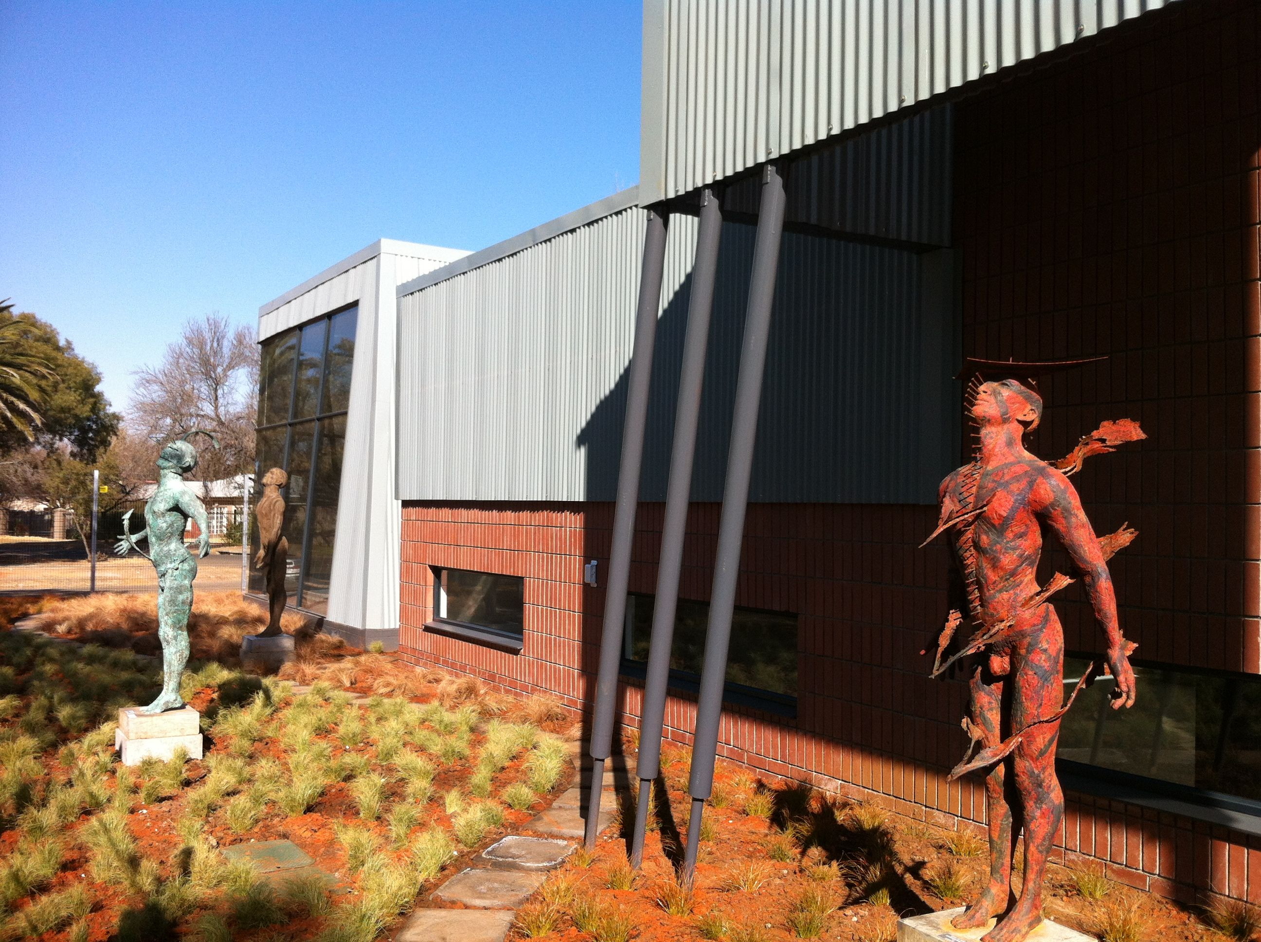 Latest project completed by SNA: Contemporary Art Gallery, Bloemfontein,