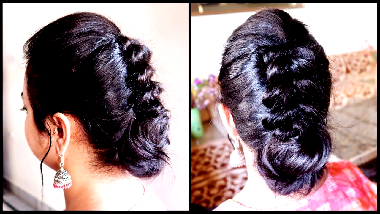 Hairstyles For Short Thin Hair For Indian Wedding hairstyle ...