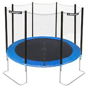 Amazon Com Ultega Jumper Trampoline With Safety Net 12 Ft Trampoline Parts And Accessories Sports Outdoo Best Trampoline Outdoor Trampoline Trampoline