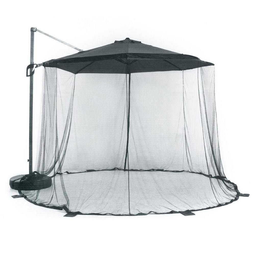 Suntime 118 In X 118 In Large Mosquito Net Parasol And Stand