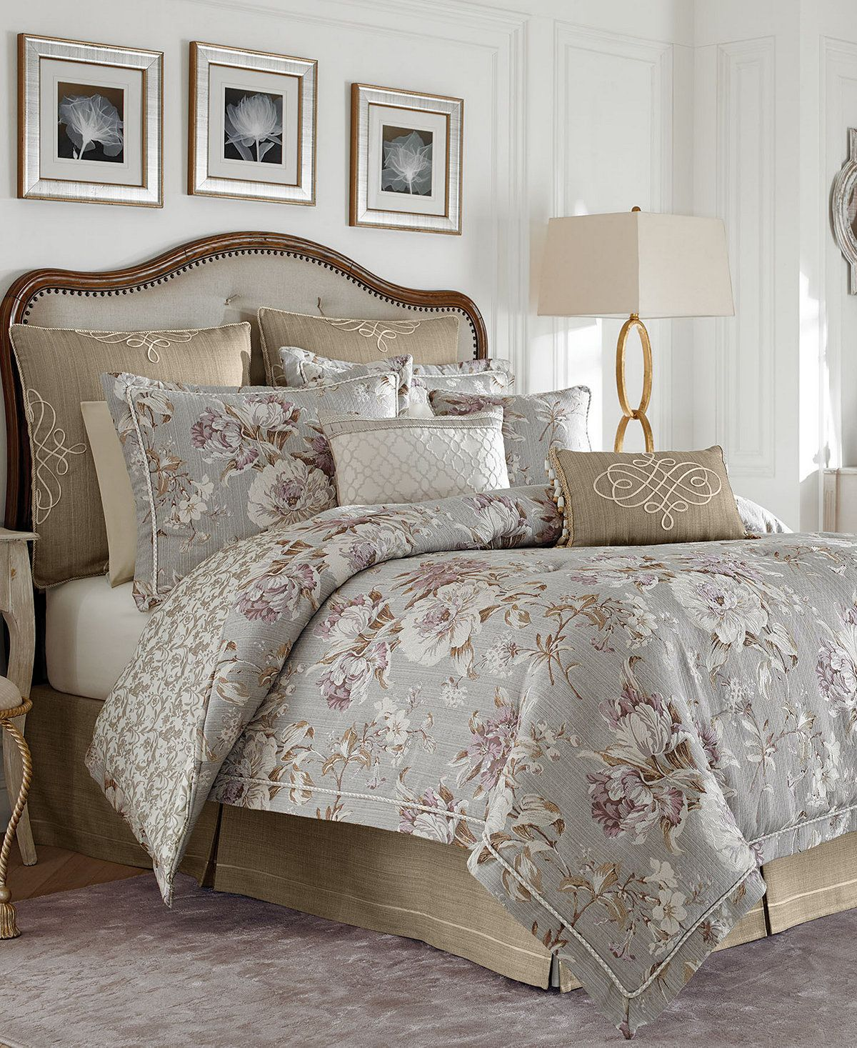 Croscill Victoria King Comforter Set - Bedding Collections - Bed ...