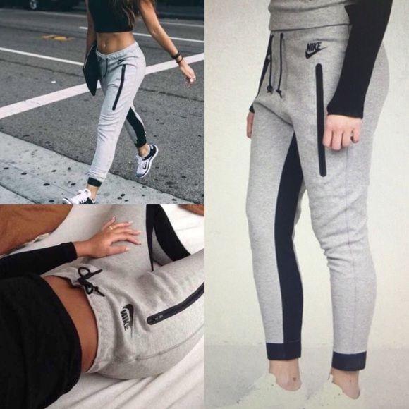 Nike Tech Fleece Track Jogger Skinny Sweatpants | Joggers Pants And Smoke Free