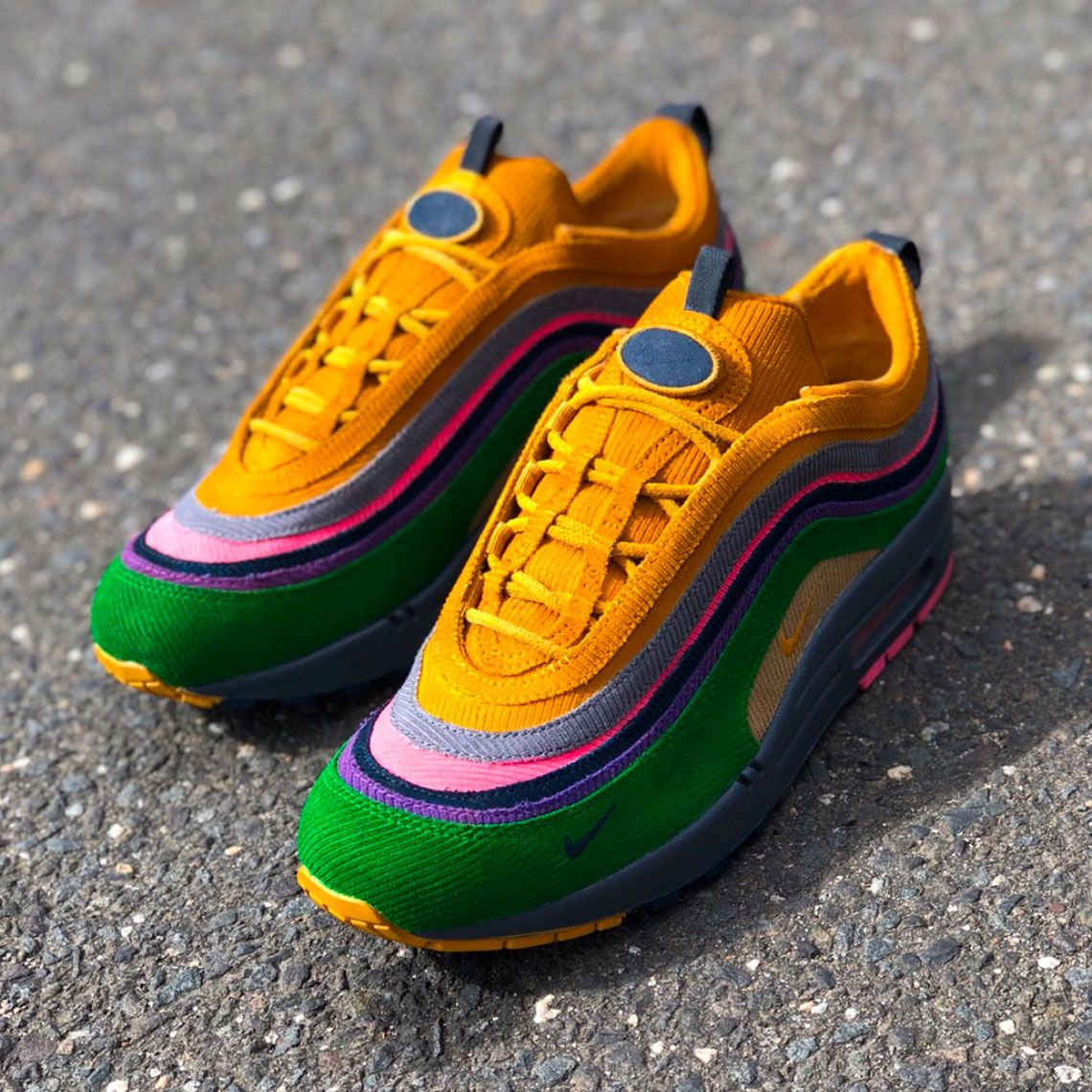 aebf7da563a Sean Wotherspoons Nike Air Max 97 1 Transformed Into Eclipse By Mache  Customs
