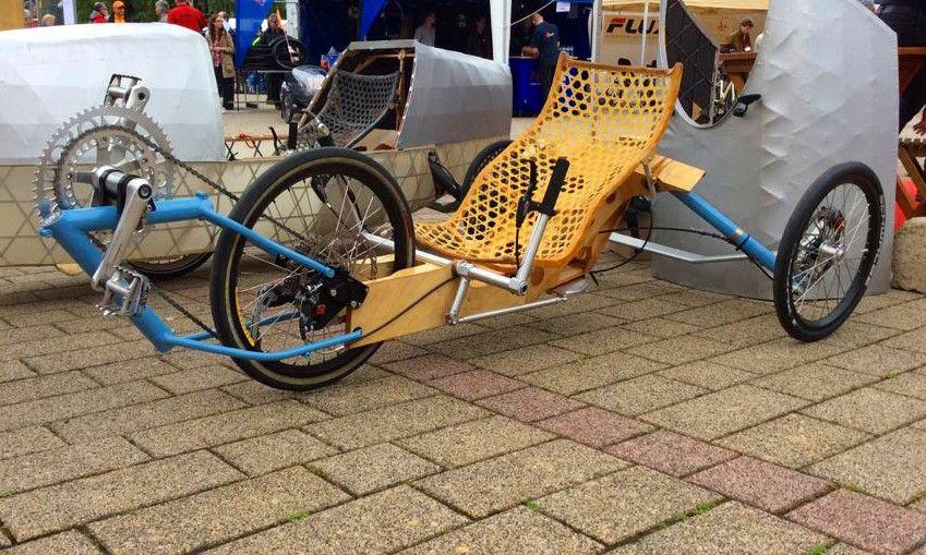 light velomobile concept Fiets